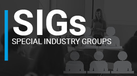 Special Industry Groups (SIGs)