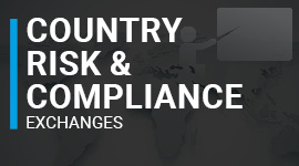 Country Risk & Compliance Exchanges