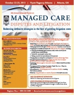 Managed Care Disputes and Litigation