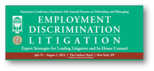 Employment discrimination litigation