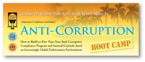 Anti-Corruption Boot Camp Miami