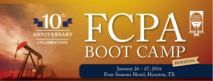 FCPA Boot Camp