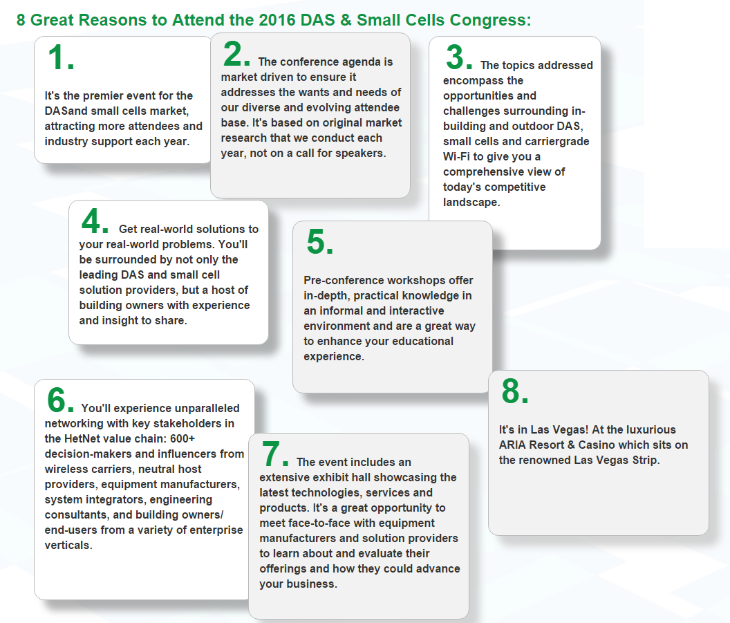 8 great reasons DAS