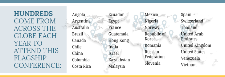 Countries Who Attend Graphic