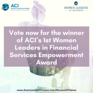 Women in Finance Award