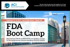 FDA Boot Camp Boston