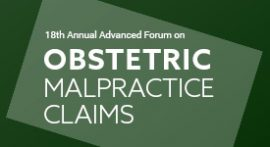 Obstetric Malpractice Claims