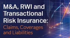 M&A, RWI and Transactional Risk Insurance