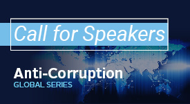 Call for Speakers: Anti-Corruption Global Series